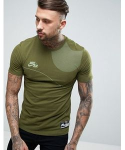 Nike | Зеленая Футболка С Логотипом Air 834579-387