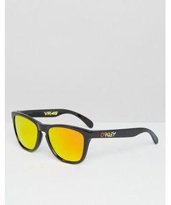 Oakley | Солнцезащитные Очки В Квадратной Оправе С Желтыми Линзами