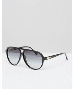 Crap Eyewear | Черные Авиаторы