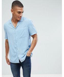 New Look | Светлая Джинсовая Рубашка Классического Кроя С Отложным Воротником