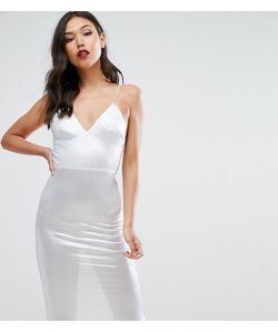 Club L | Платье Миди С Оттенком Металлик