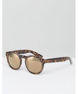 Monki | Круглые Солнцезащитные Очки С Вырезом Замочная Скважина Retro