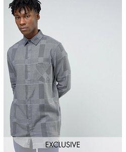 Cheap Monday | Длинная Фланелевая Рубашка В Клетку