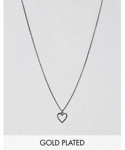 Pilgrim | Ожерелье С Подвеской-Сердцем