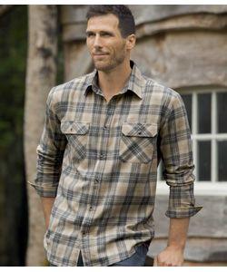 AFM | Фланелевая Рубашка В Клеткуatlas For