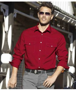 AFM | Рубашка Из Поплина В Стиле Вестернatlas For Men