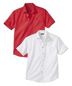AFM   Комплект Рубашек Из Хлопка 2 Шт.Atlas For Men