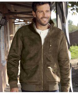 AFM | Замшевая Куртка С Подкладкой Из Шерпыatlas For Men