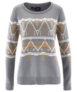 bonprix   Пуловер С Круглым Вырезом