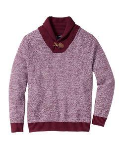 bonprix | Пуловер Regular Fit С Шалевым Воротом