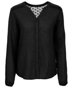 bonprix | Блуза С Вязаным Кружевом