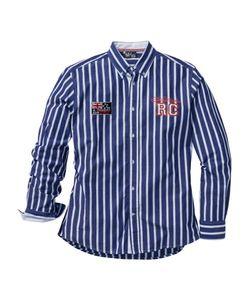 bonprix   Полосатая Рубашка Regular Fit С Длинным Рукавом