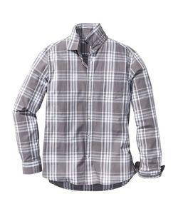 bonprix   Клетчатая Рубашка Regular Fit С Длинным Рукавом