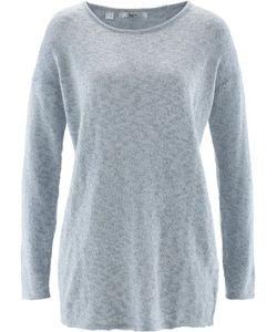 bonprix   Пуловер Прямого Короткого Покроя С Длинным Рукавом