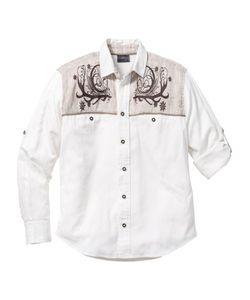 bonprix | Рубашка Regular Fit В Традиционном Стиле