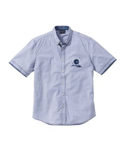 bonprix | Рубашка Regular Fit С Коротким Рукавом