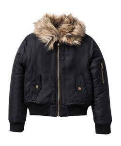 bonprix | Байкерская Куртка Со Съемным Воротником