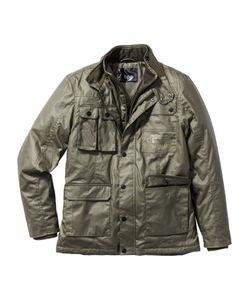 bonprix | Куртка Regular Fit С Вощеным Покрытием
