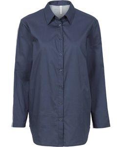 bonprix | Рубашка В Стиле Бойфренд С Трикотажной Вставкой