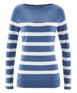 bonprix   Пуловер С Вырезом-Лодочка И Длинным Рукавом