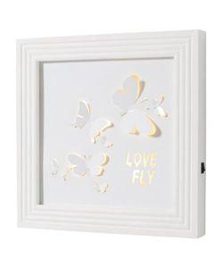 bonprix   Картина Бабочки С Диодной Подсветкой