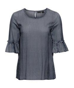 bonprix | Полосатая Блузка С Рукавами-Колокольчиками