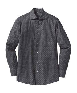 bonprix   Деловая Рубашка Regular Fit С Минималистским Узором