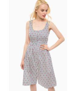 Sugarhill Boutique | Хлопковое Платье В Полоску На Пуговицах