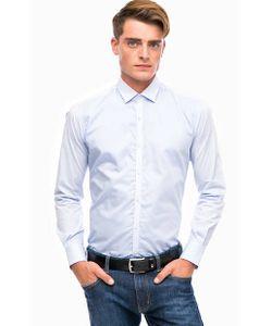 Lagerfeld | Синяя Хлопковая Рубашка