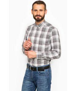 Mexx | Хлопковая Рубашка В Клетку С Длинными Рукавами