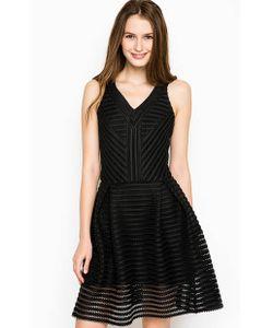 Silvian Heach   Приталенное Черное Платье