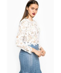 Miss Sixty | Кружевная Укороченная Блуза