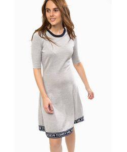 Tommy Hilfiger | Шерстяное Платье Приталенного Силуэта