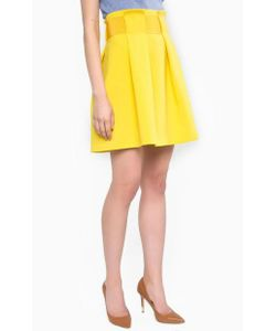 Patrizia Pepe | Короткая Желтая Юбка