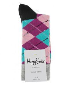 Happy Socks | Разноцветные Носки В Клетку