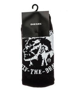 Diesel | Черные Хлопковые Носки