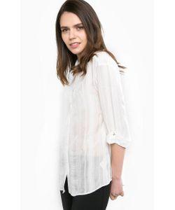 Patrizia Pepe | Блуза Из Вискозы С Отворотами На Рукавах