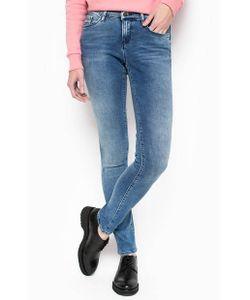 Calvin Klein Jeans   Джинсы Скинни С Высокой Посадкой