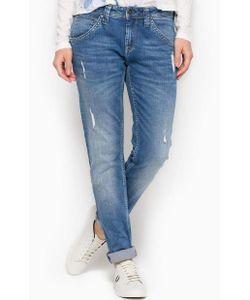 Pepe Jeans | Рваные Джинсы Бойфренды Со Средней Посадкой