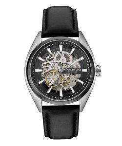 Kenneth Cole | Механические Часы С Кожаным Ремешком