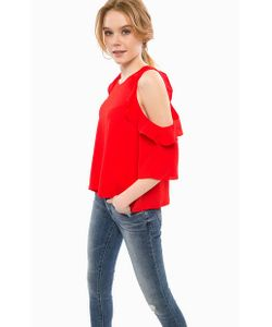 Glamorous | Блуза Красного Цвета С Короткими Рукавами
