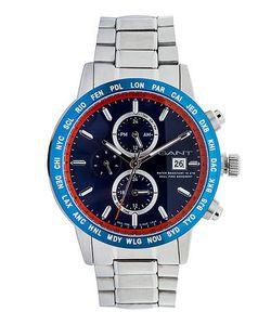 Gant | Кварцевые Часы С Хронографом