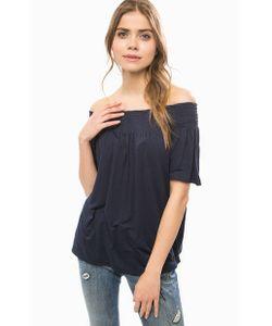 TOM TAILOR | Блуза Из Вискозы С Открытыми Плечами