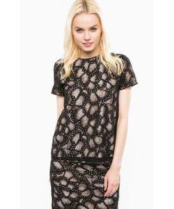 Juicy Couture | Кружевная Блуза С Короткими Рукавами
