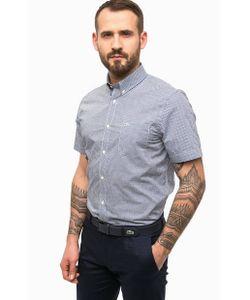 Lacoste | Рубашка В Клетку С Короткими Рукавами