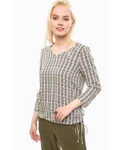 Vero Moda   Блуза Из Вискозы С Длинными Рукавами