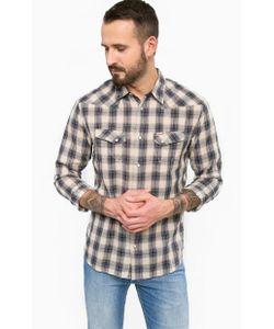 Wrangler | Хлопковая Рубашка На Кнопках