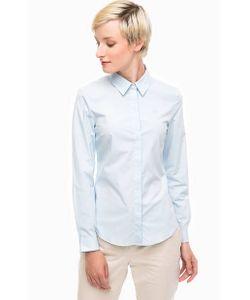 Lacoste | Голубая Хлопковая Рубашка