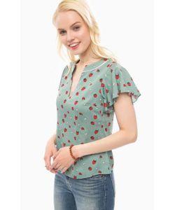 Sugarhill Boutique | Блуза Из Вискозы С Треугольным Вырезом
