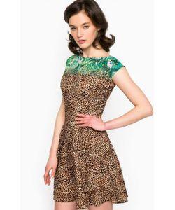 Guess | Короткое Платье С Животным Принтом
